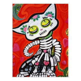 Gato De Los Muertos Postcard