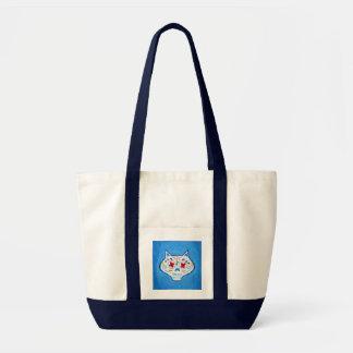 Gato Mirón Uno Tote Bags