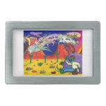 Gator and The Ghost Riders Rectangular Belt Buckle