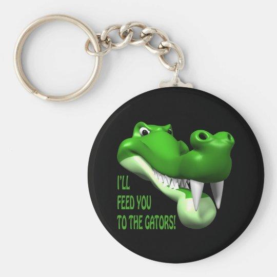 Gator Basic Round Button Key Ring