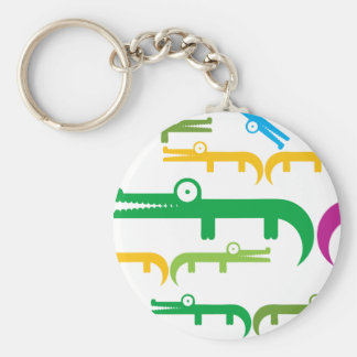 Gator Basic Round Button Key Ring