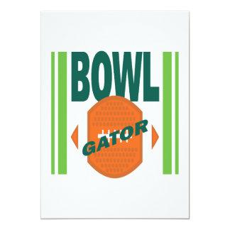 Gator Bowl 13 Cm X 18 Cm Invitation Card