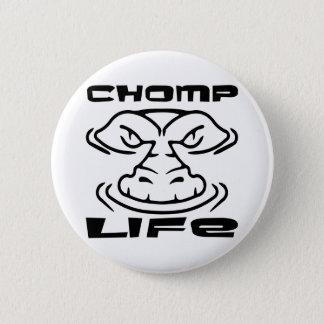 Gator Chomp Life 6 Cm Round Badge