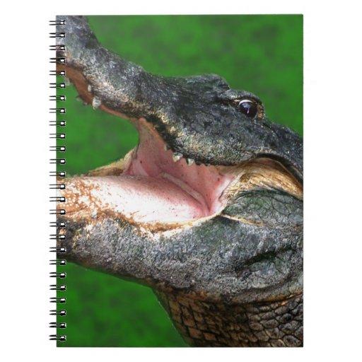 Gator Chomp Spiral Notebook