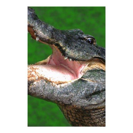 Gator Chomp Stationery Paper