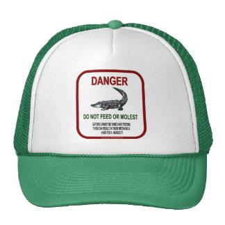 Gator Danger Trucker Hats