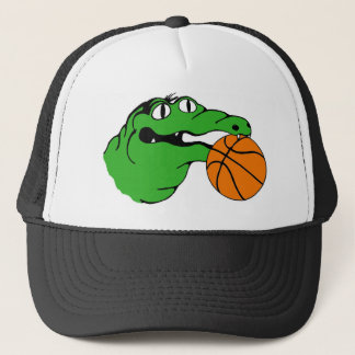 Gator Gear BASKETBALL No Words Trucker Hat