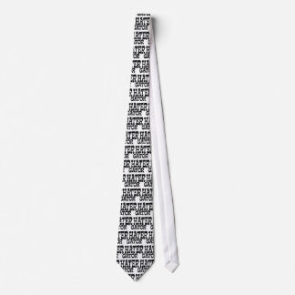 Gator Hater Black apparel design Tie