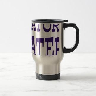 Gator Hater Blue design Mugs