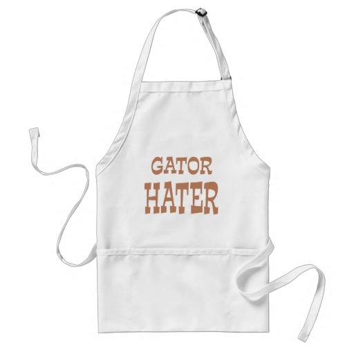 Gator Hater Bronze design Aprons
