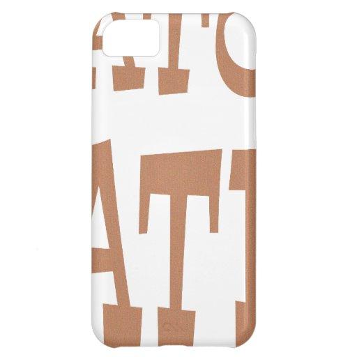Gator Hater Bronze design iPhone 5C Case