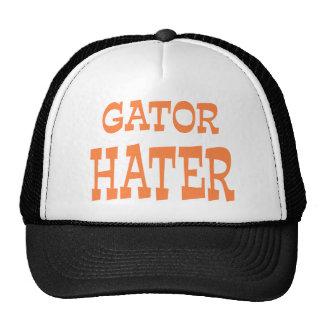 Gator Hater Burnt Orange apparel design Mesh Hats