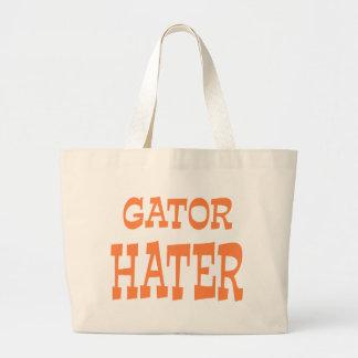 Gator Hater Burnt Orange design Tote Bag