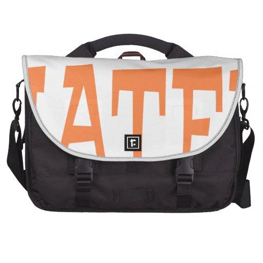 Gator Hater Burnt Orange design Laptop Bag