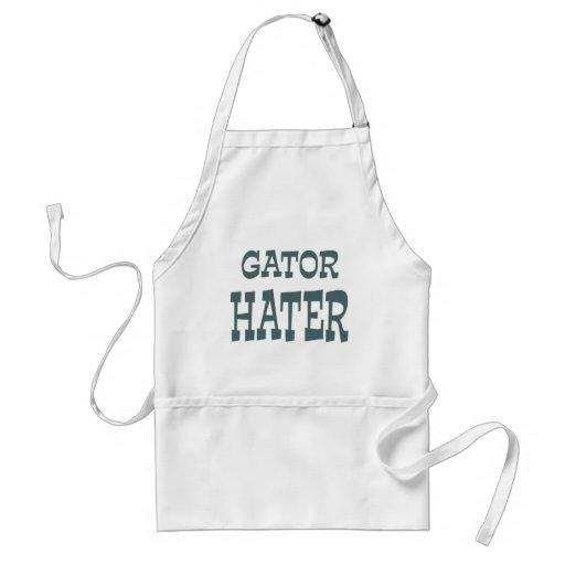 Gator Hater Forest Green design Apron