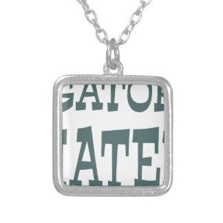 Gator Hater Forest Green design Custom Jewelry