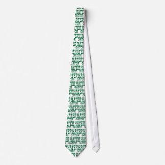 Gator Hater Grass Green apparel design Tie