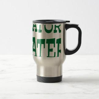 Gator Hater Grass Green design Mugs