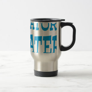 Gator Hater Light Blue design Coffee Mugs