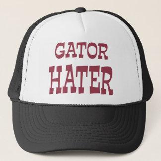 Gator Hater Maroon apparel design Trucker Hat
