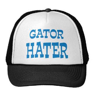 Gator Hater Powder Blue apparel design Hats