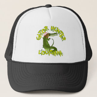 Gator Hunter Louisiana Trucker Hat