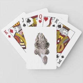 Gator Playing Cards