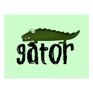 Gator T shirts and Gifts Post Card