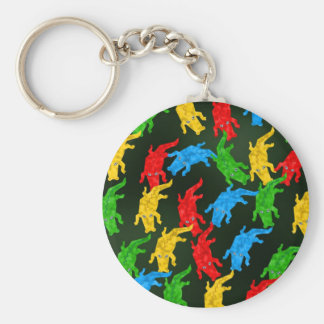 Gator Wallpaper Basic Round Button Key Ring