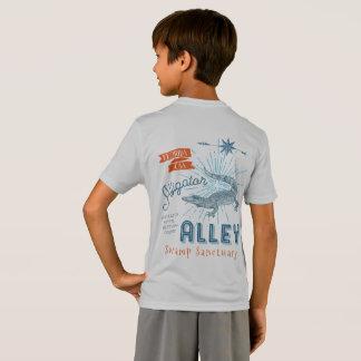 Gator Wrestling Champ Alligator Alley Retro T-Shirt