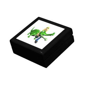 Gator Wrestling Trinket Boxes