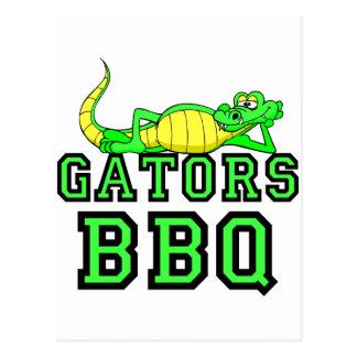 Gators BBQ Postcard