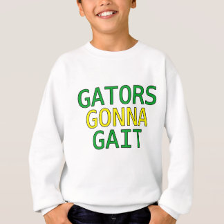 Gators Gonna Gait Funny Alligator Meme T-Shirt