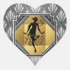 Gatsby Flapper Art Deco Stickers