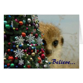 Gattaca Pup s Magic Holidays - Greetings Card