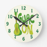 Gauc On! Wall Clock