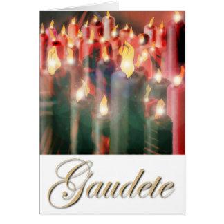 Gaudete Candles Card