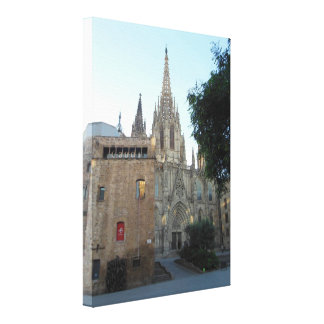 Gaudi Barcelona Stretched Canvas Prints
