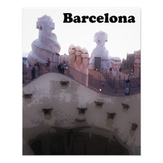 "Gaudi Casa Milà ""La Pedrera"" Barcelona Photograph"