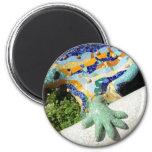 Gaudi Lizard Hand - gift magnet