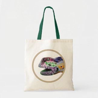 Gaudi Lizard Head Mosaics Budget Tote Bag