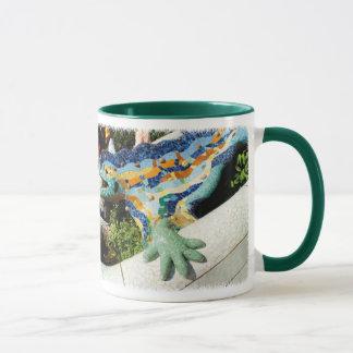 Gaudi Lizard Mosaics Mug