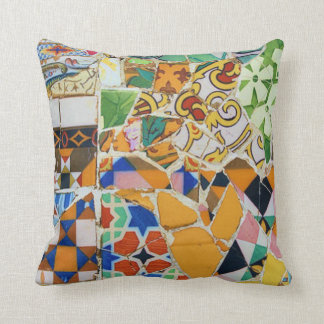 Gaudi Mosaic Cushion
