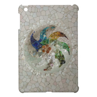 Gaudi Mosaic Rose iPad Mini Cases