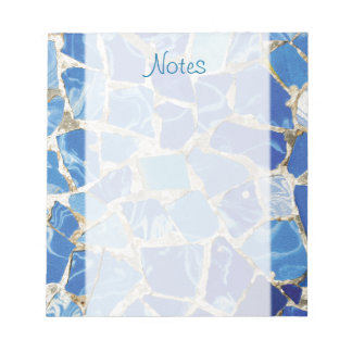 Gaudi Mosaics With an Oil Touch Notepad