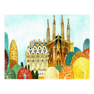 Gaudi' s Barcelona. Postcard