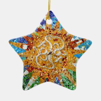 Gaudi Star Ornament II