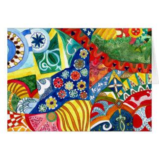 Gaudi's Bench 2. Card
