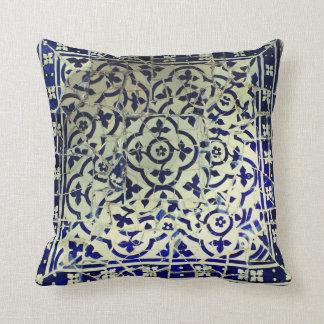 Gaudi's Park Guell Mosaic Tiles Barcelona Cushion