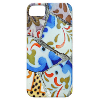 Gaudi's Park Guell Mosaic Tiles Case For The iPhone 5
